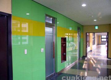 Kính ốp tường bếp đẹp giá rẻ chất lượng 2018 tại Anh Sơn