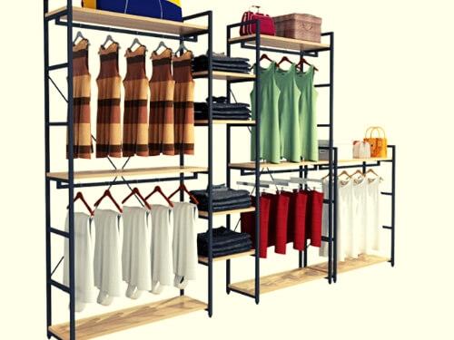 gia ke shop 05 - Giá kệ shop quần áo đẹp tại Tphcm