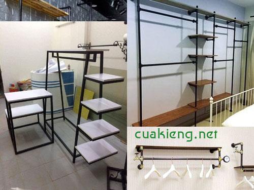 gia ke shop tan phu 1 - Làm giá kệ shop để quần áo tại quận Tân phú Tphcm