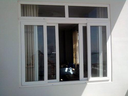 cua so truot lua 4canh1 - Thiết kế và thi công cửa sổ nhôm lùa 4 cánh