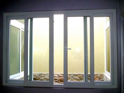 cua so truot lua 4canh3 - Thiết kế và thi công cửa sổ nhôm lùa 4 cánh