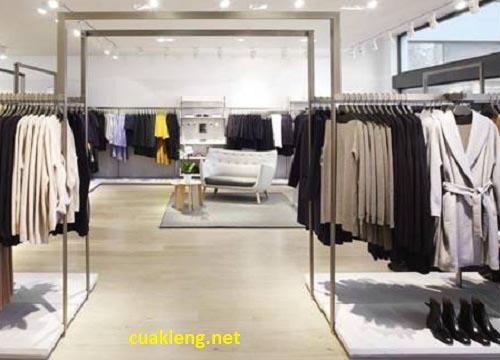 mau gia ke shop dep - Các mẫu kệ treo quần áo shop đáng đồng tiền bát gạo nhất