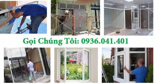 sửa cửa kính giá rẻ 1 - Sửa chữa cửa nhôm kiếng giá rẻ tại Tphcm
