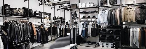 gia ke sat v lo shop gia re tphcm - Giá kệ sắt treo quần áo shop thời trang uy tín 2021