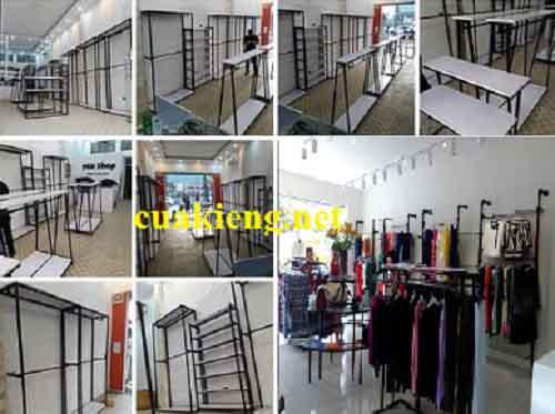gia ke shop quan ao tre em - Cơ sở làm kệ treo quần áo shop trẻ em giá rẻ tại tphcm