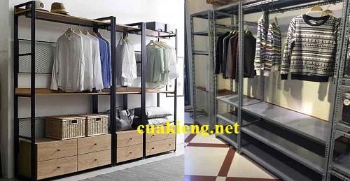 ke sat cho shop quan ao gia re tphcm - Kệ treo quần áo shop giá rẻ quận 1, 2, 3, 4, 5, 6, 7, 8, 9, 10, 11, 12 tphcm