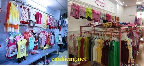ke treo quan ao shop tre em - Cách trang trí shop quần áo trẻ em đẹp & khoa học