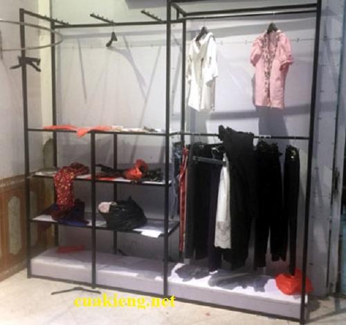 mau ke treo quan ao shop hcm - Giá kệ shop quần áo giá rẻ quận tân bình, bình thạnh, thủ đức tphcm