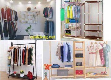 kệ treo quần áo shop hcm