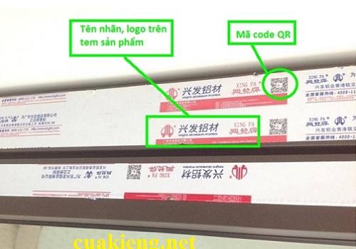 cua nhom xingfa chinh hang gia re - Báo giá cửa nhôm Xingfa giá rẻ 2021 tại Tp HCM