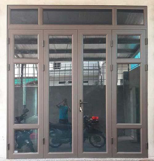 cua nhom kinh 4 canh - Cửa nhôm kiếng giá rẻ tại Tp HCM