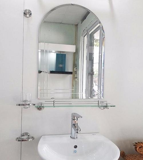 kinh guong soi vom nha tam - Cắt kính gương soi giá rẻ Tân Phú, Gò Vấp, Thủ Đức